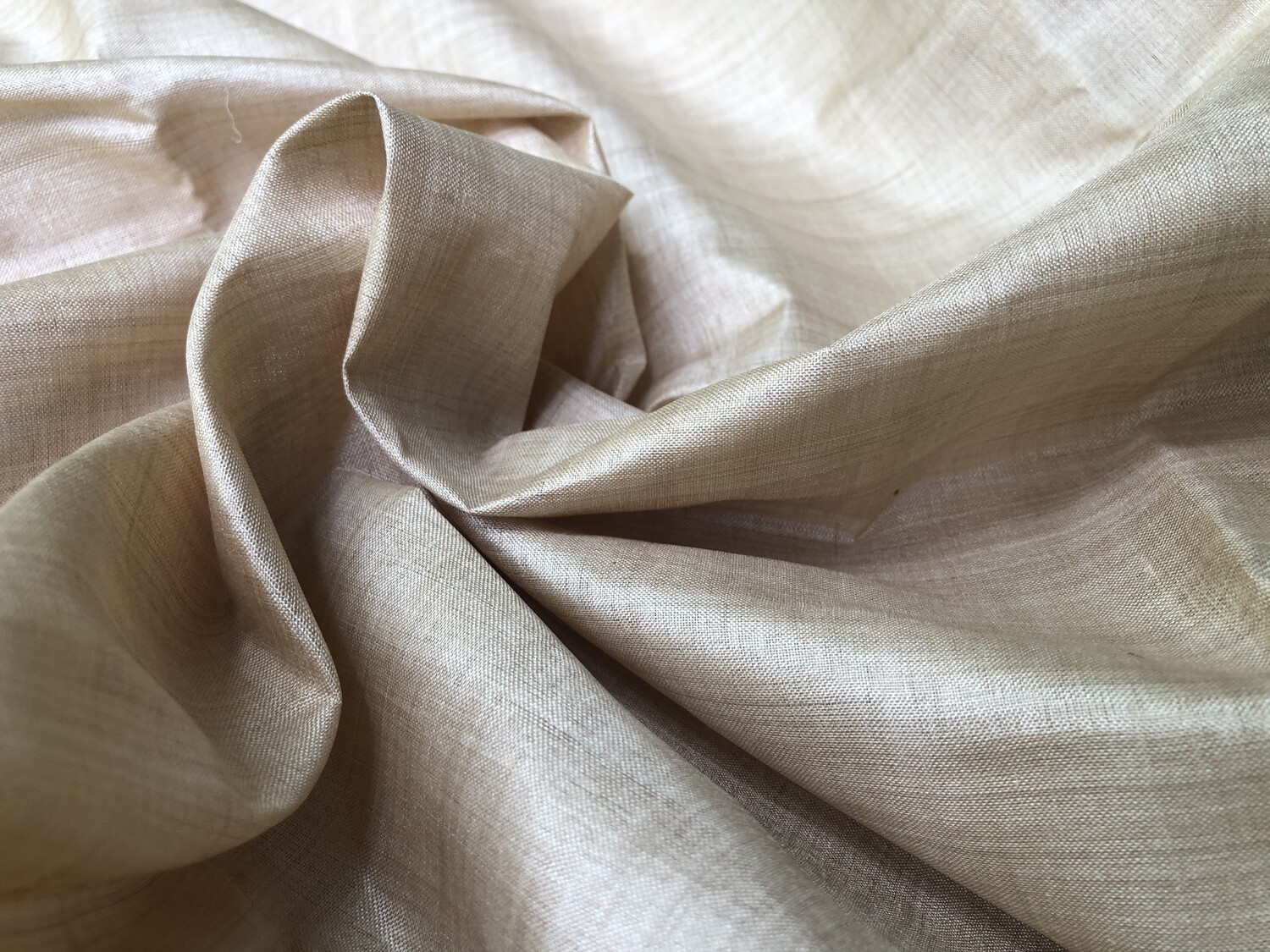 Desi Tussar Silk Fabric