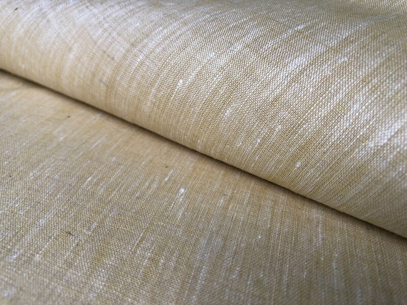 Linen With Cotton Fabric