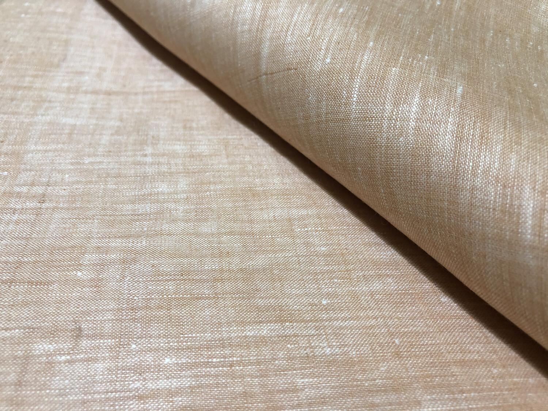 Hand Woven Linen With Muslin Cotton Fabric