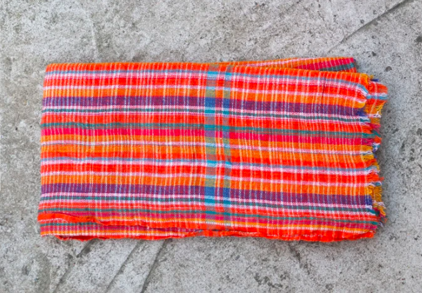 Gamcha Khadi Traditional Indian Bathing Towel