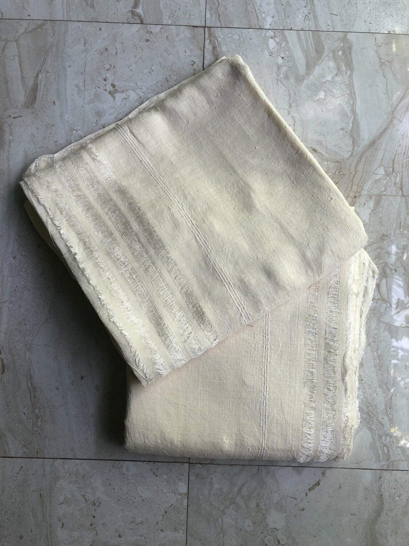 Matka Silk / Peace Silk / Ahimsa Silk DHOTI AND CHADAR