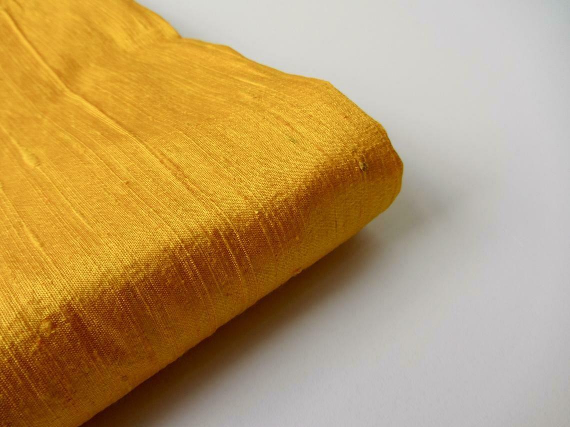 Silk Dupioni Fabric / Raw Silk