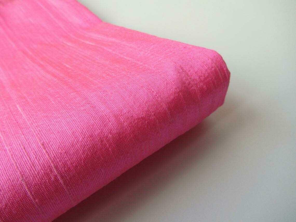 Silk Dupioni Fabric / Raw Silk