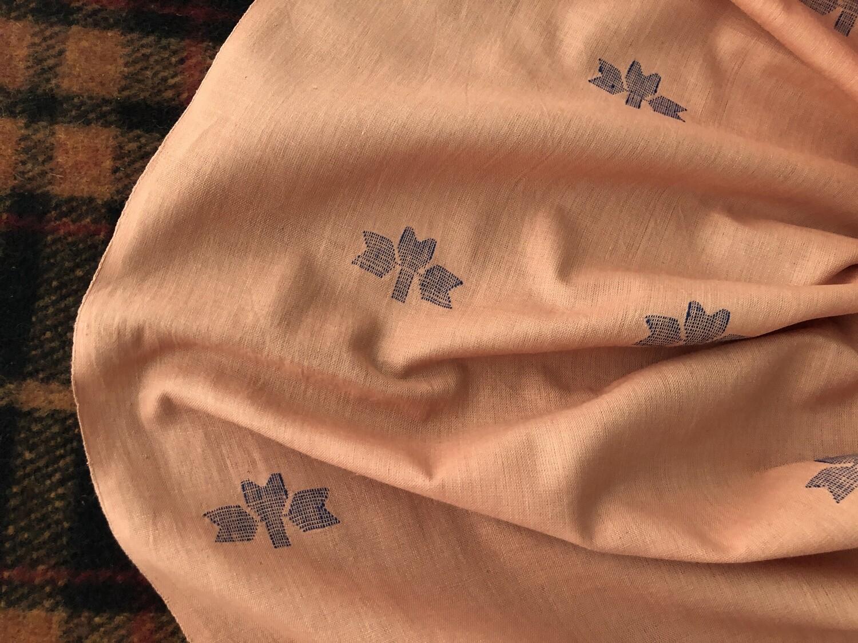 Handwoven Cotton Jamdani Fabric