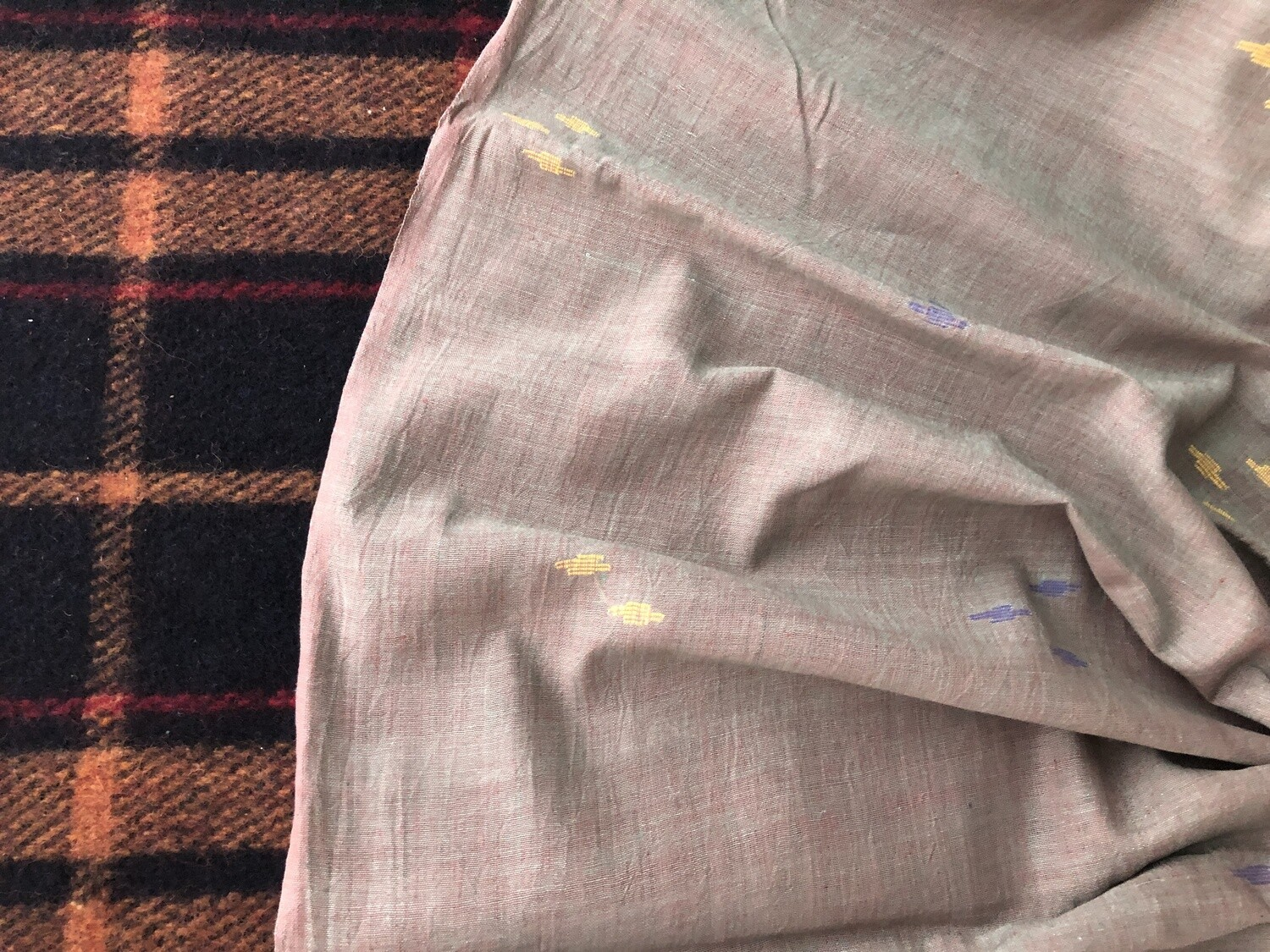 Handwoven Cotton Jamdani Fabric