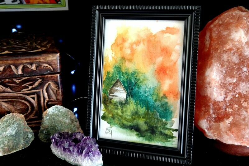 #27 Watercolor Landscape by Jane Font