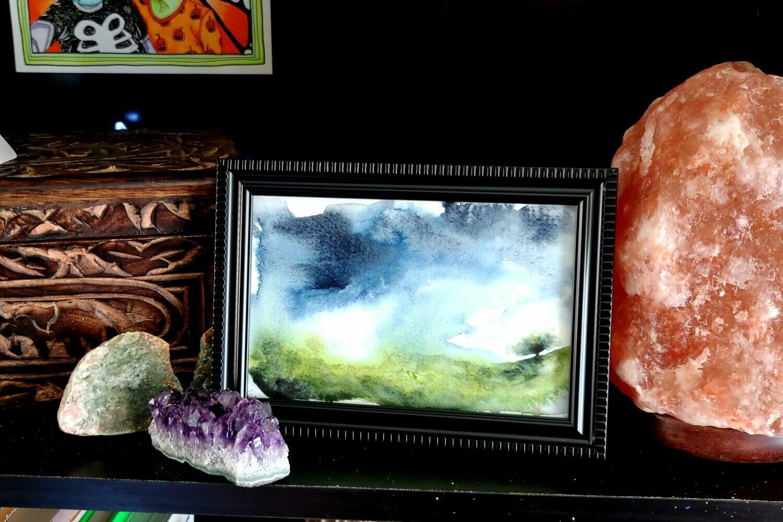 #8 Watercolor Landscape by Jane Font