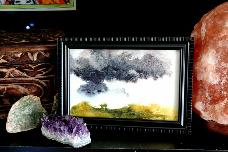#4 Watercolor Landscape by Jane Font