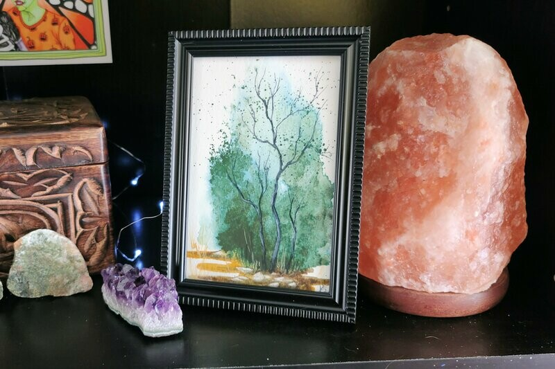 #55 Watercolor Landscape by Jane Font