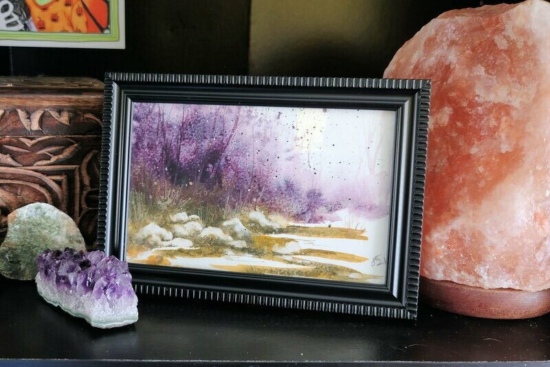 #60 Watercolor Landscape by Jane Font