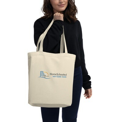 Homeschooled with Kaitlin Smith Eco Tote Bag