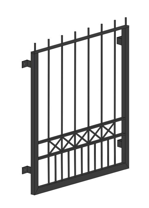 "Fenstergitter  ""Toulon""  Stahl verzinkt wahlweise beschichtet"