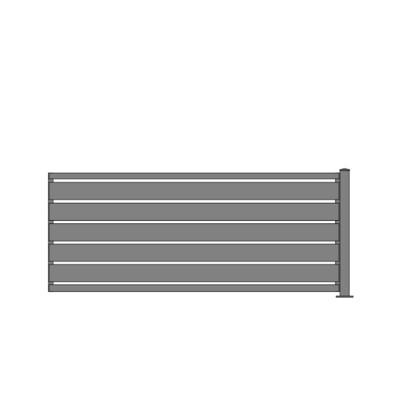 Sichtschutz Zaun ALU-Füllung in RAL