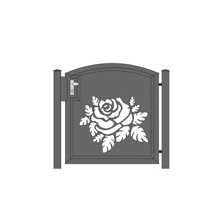 Oberbogen Zuschlag für Laser-Türen