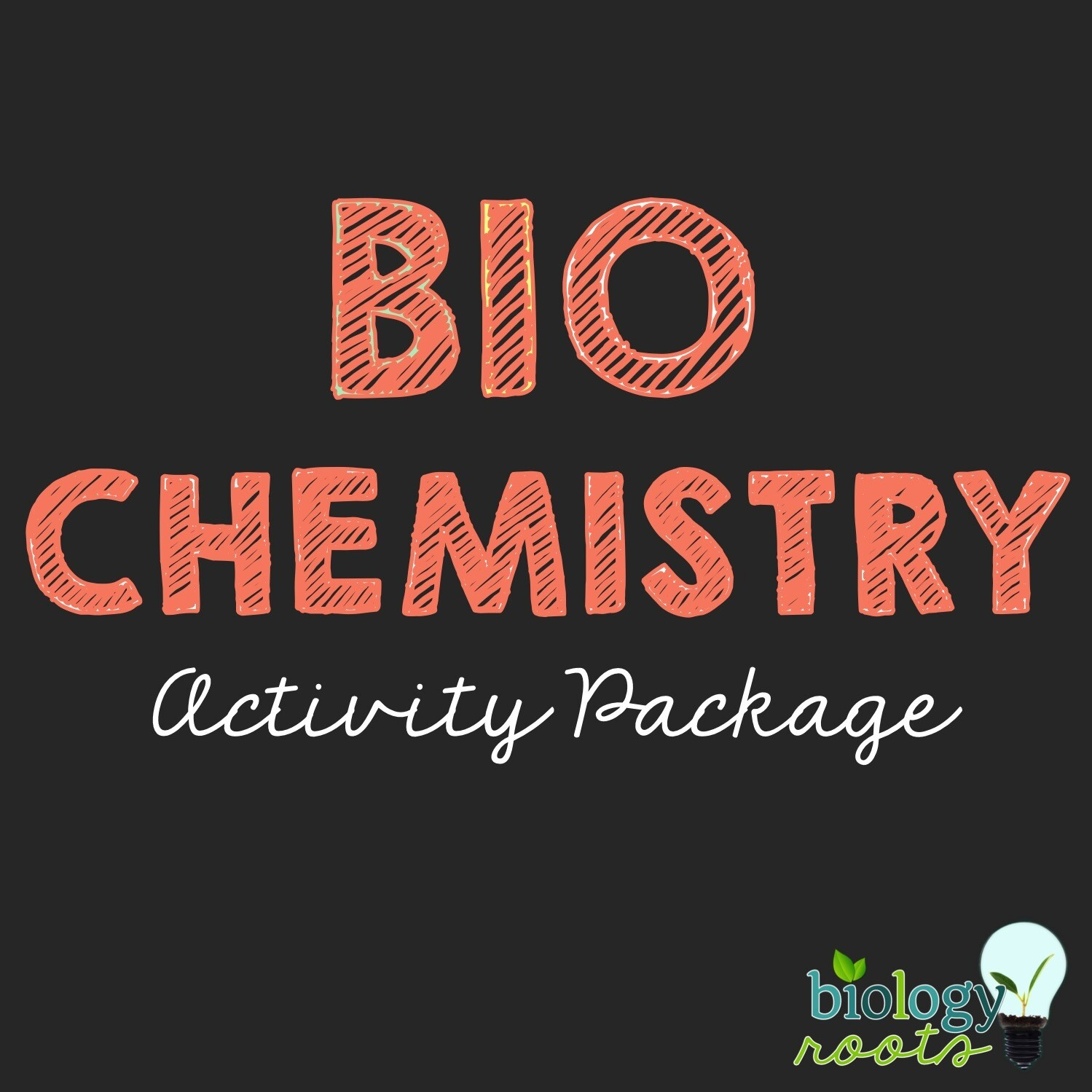 Biochemistry Activity Package- supports remote learning