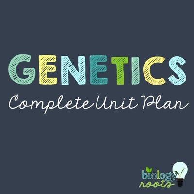 Genetics Unit Bundle - supports digital