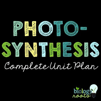 Photosynthesis Unit Bundle- supports distance learning