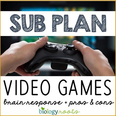 Science Literacy Sub Plan- VIDEO GAMES