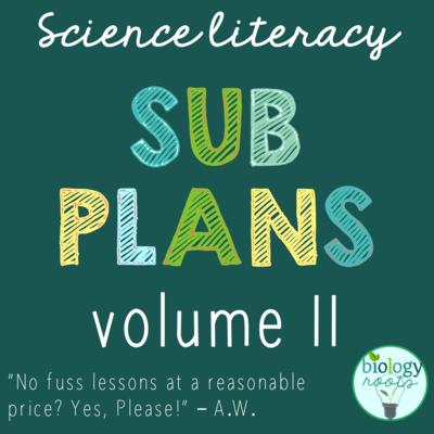 Science Literacy Sub Plans Volume II