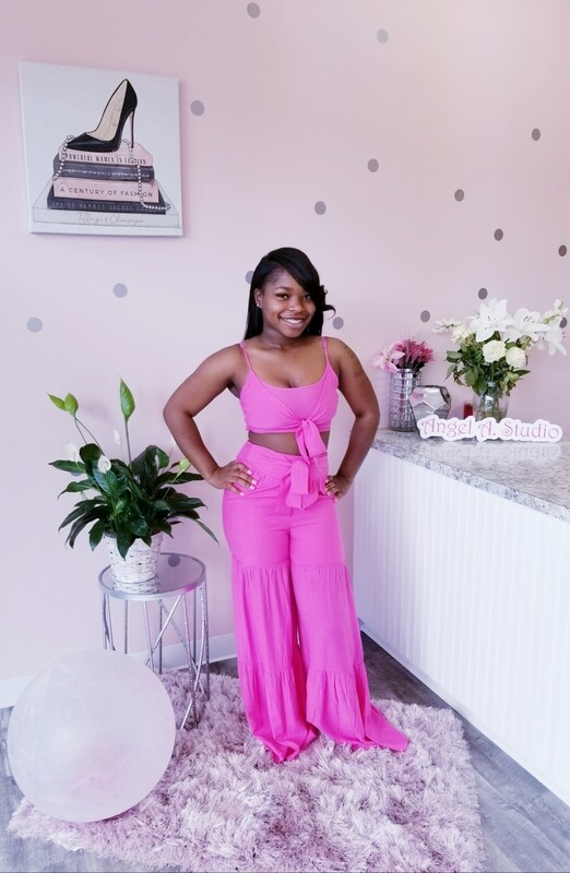 Hot Pink Two-piece