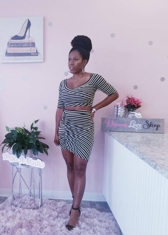 Stripe Her Set