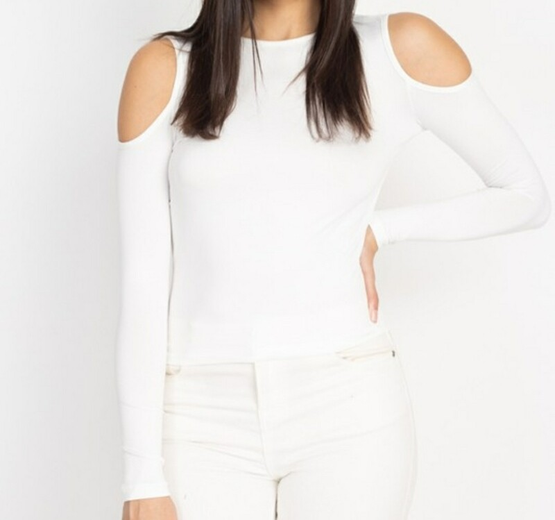 Open Shoulder Top