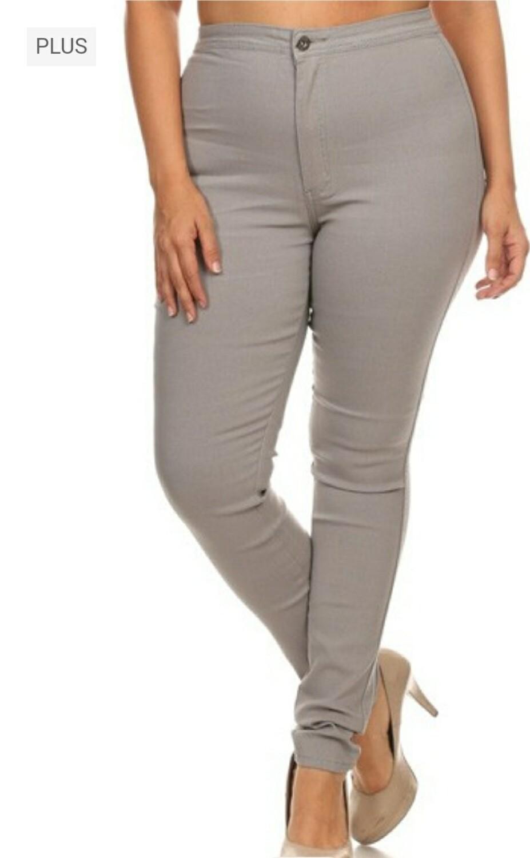 Grey Disco Pants
