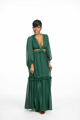 Lace Up Maxi