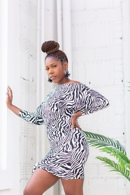 Zebra Print Maxi