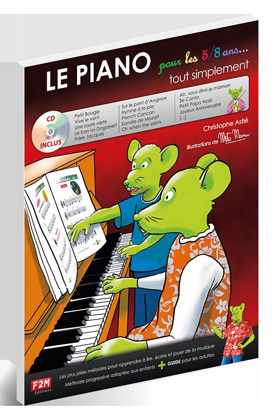 LE PIANO pour les 5/8 ans