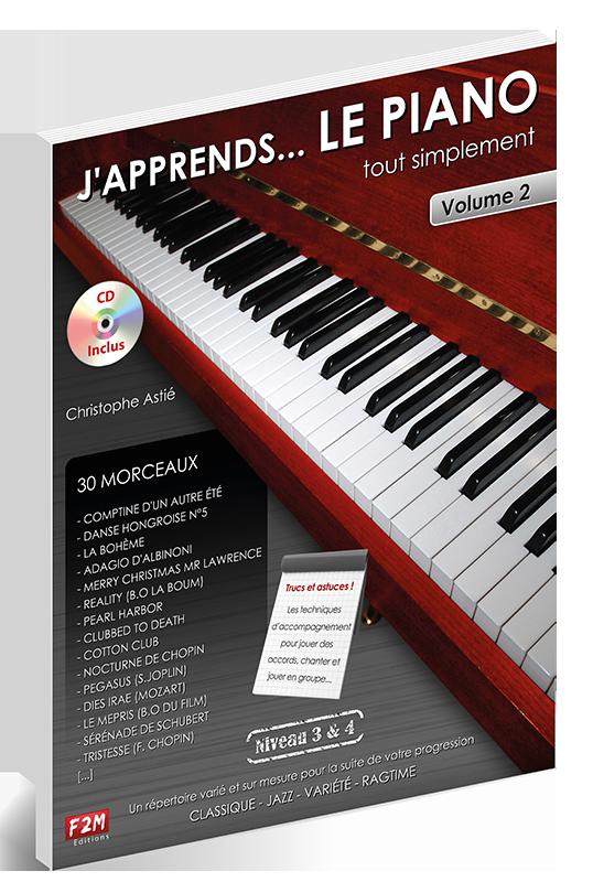 J'apprends LE PIANO - Volume 2
