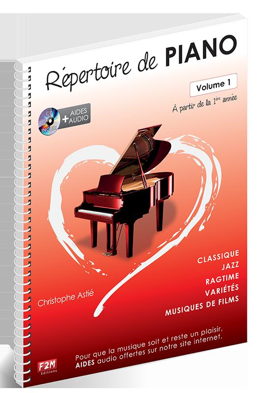 Répertoire de PIANO - Volume 1