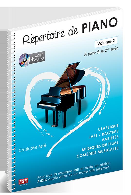 Répertoire de PIANO - Volume 2