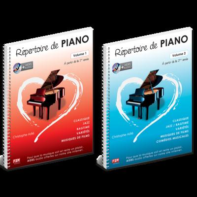 Offre DUO - Répertoire de PIANO - Vol 1 + Vol 2