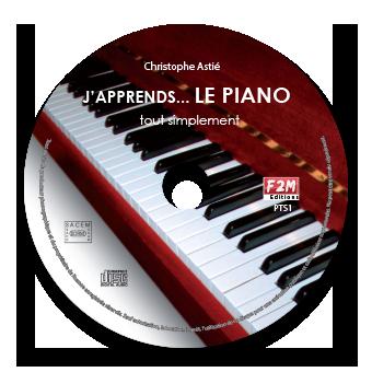 CD - J'apprends LE PIANO - Vol 1