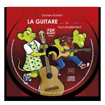 CD - LA GUITARE pour les 6/9 ans