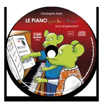 CD - LE PIANO pour les 5/8 ans