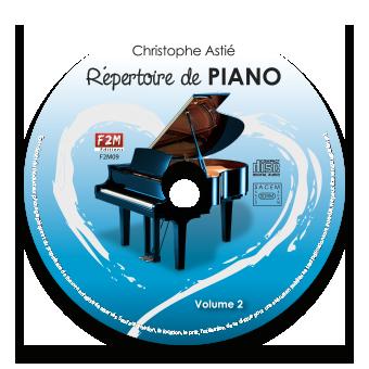 CD - Répertoire de PIANO - Vol 2