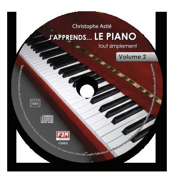 CD - J'apprends LE PIANO - Vol 2