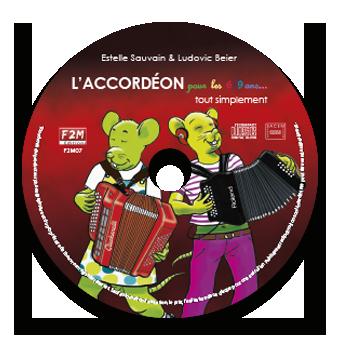 CD - L'ACCORDÉON pour les 6/9 ans