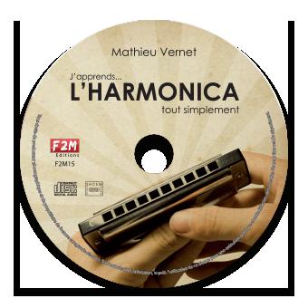 CD - J'apprends L'HARMONICA