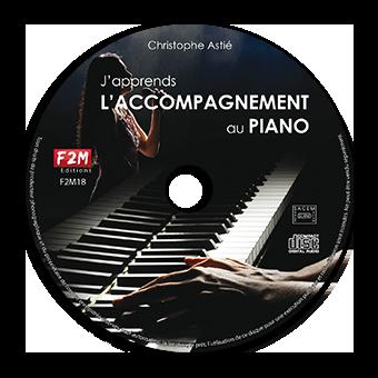 CD - J'apprends L'ACCOMPAGNEMENT AU PIANO