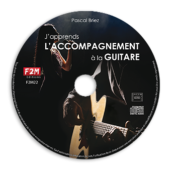 CD - J'apprends L'ACCOMPAGNEMENT A LA GUITARE