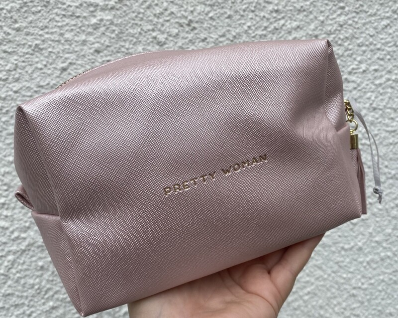 Champagne Pink Cosmetic Bag