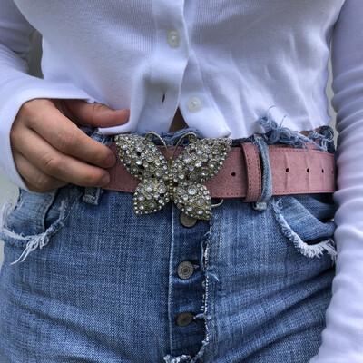 VINTAGE Butterfly Belt: SIZE 6-10