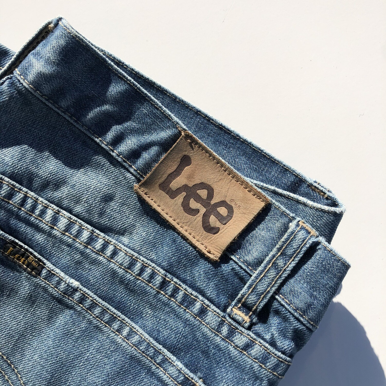 VINTAGE LEE Lo-Ryder Flare Jeans: SIZE Approx. 12