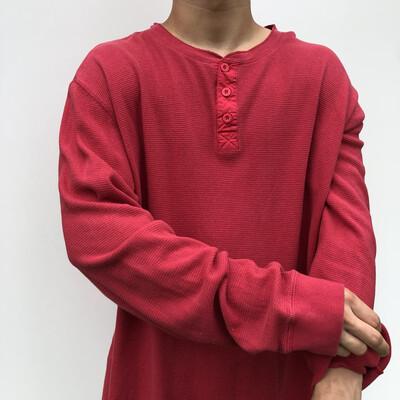 VINTAGE LEVIS Oversized Long-Sleeve: SIZE XL / 8-16