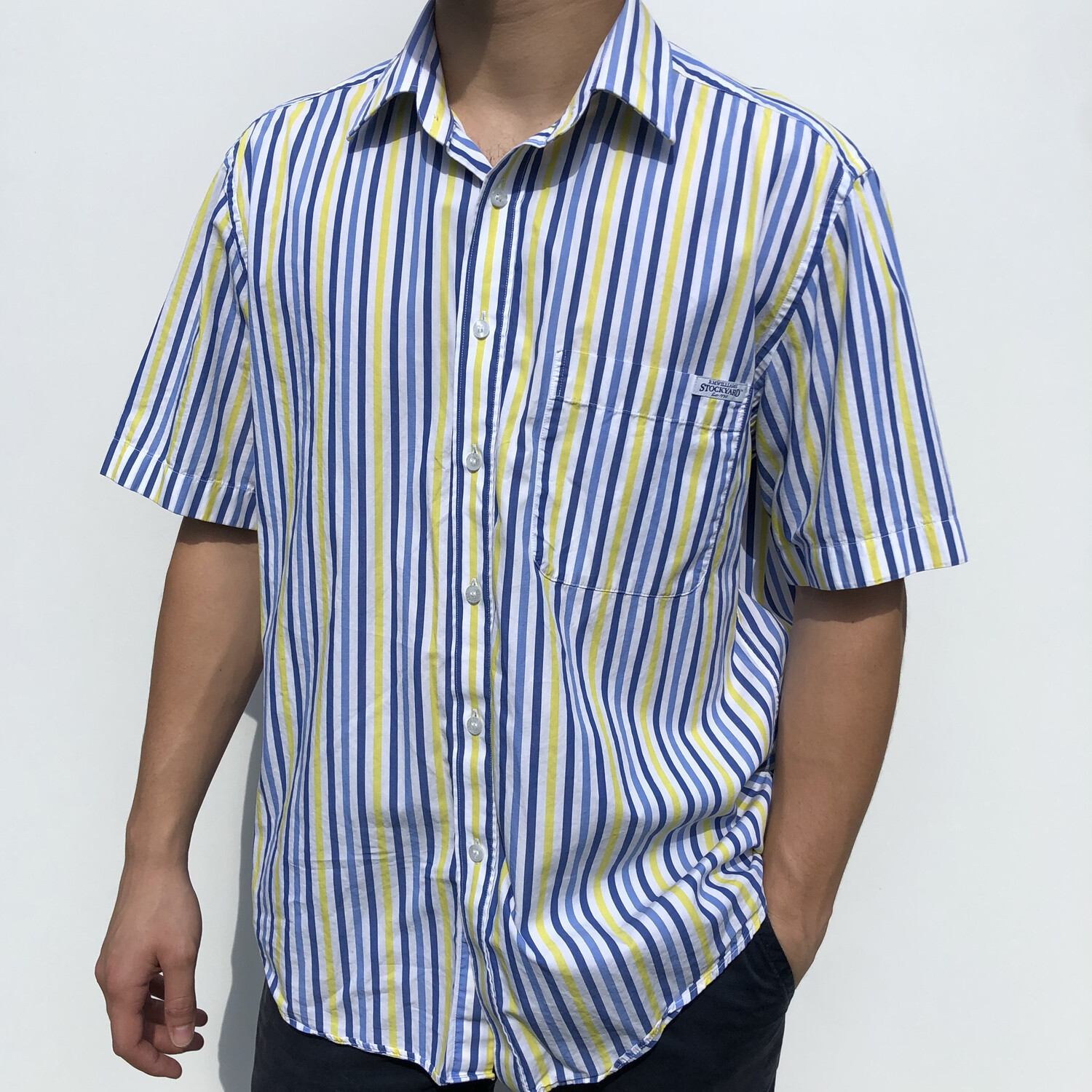 R.M. Williams Stripped Button-Up