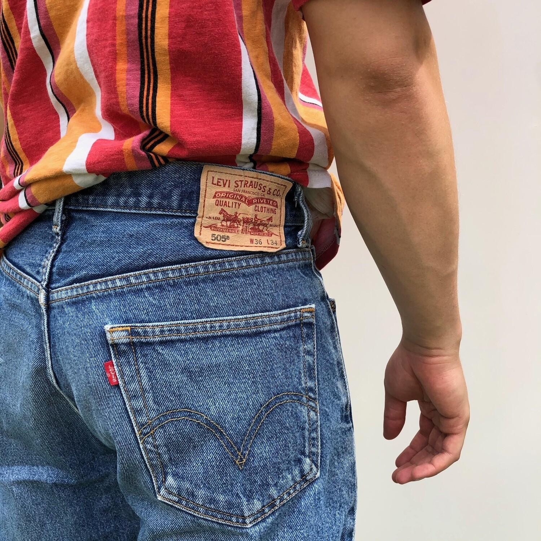 LEVIS 505 Denim Jeans: 32' 34'