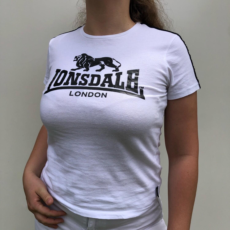 LONSDALE Logo T-Shirt: SIZE 6-10